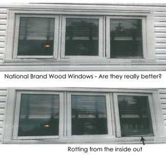 Why cheap vinyl windows will fail in 3 5 years for Cheap vinyl windows