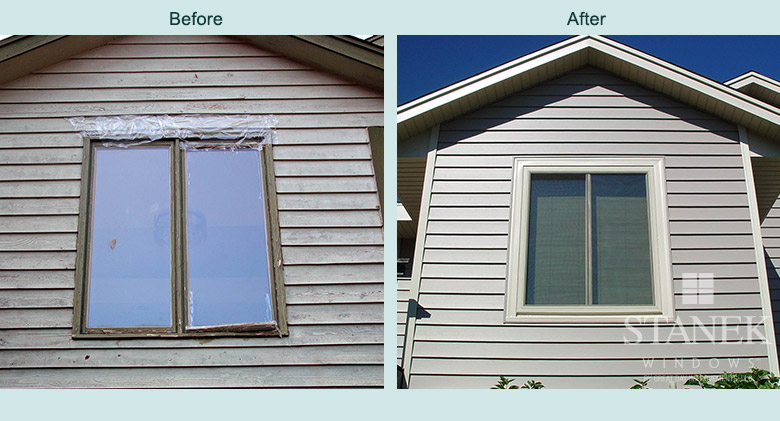 Before Amp After Replacement Windows Photos Stanek Windows