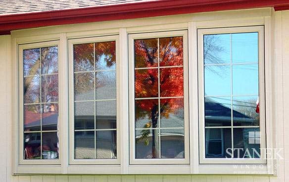 Casement Bow Window : Bow windows customer photo gallery stanek