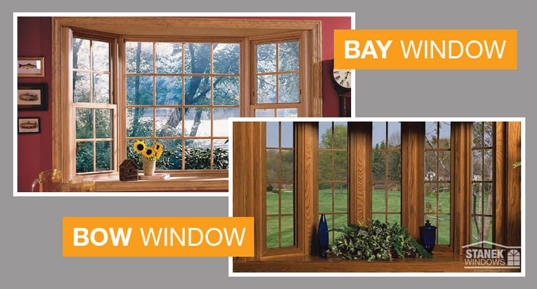 Bay windows vs bow windows two kinds of beautiful for Bow window replacement