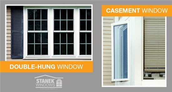 Double-hung vs  Casement Windows - Which is Best for You? - ~