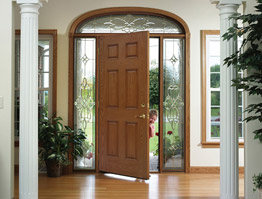 Learn how to clean your home entry door.