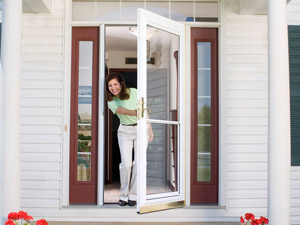 Learn How To Install A Storm Door.