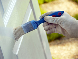 Learn how to paint an exterior door.