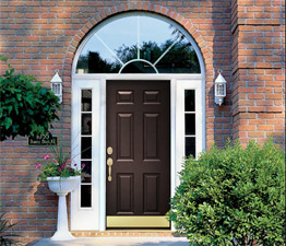 How to clean fiberglass and steel doors.