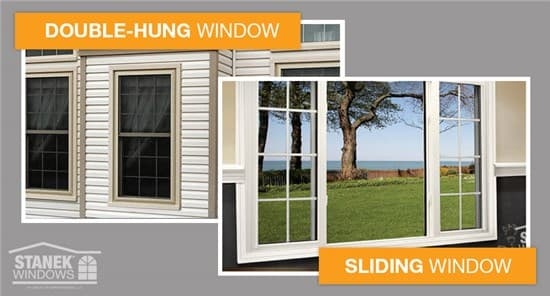 Sliding Vs Double Hung Windows Which