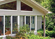 Traditional Sunroom Windows