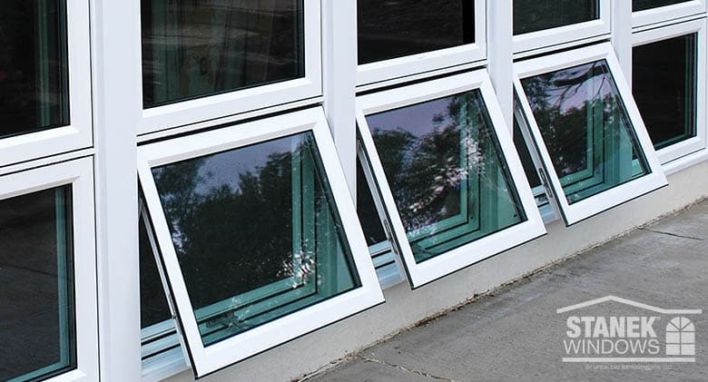 awning style windows aluminum stanek windows awning vs casement windows whats the difference