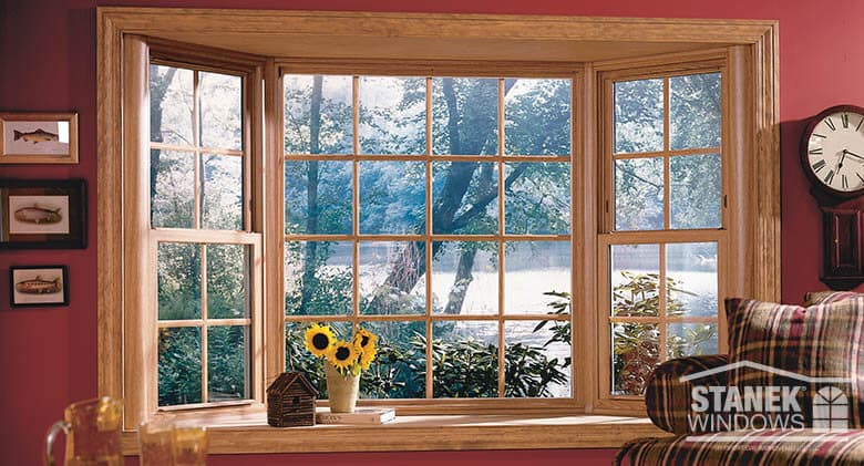 Bay Window Photo Gallery Vinyl Replacement Windows Stanek