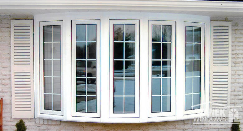 Vinyl bow windows photo gallery stanek replacement windows for Bow window replacement