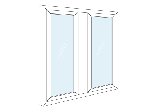 Casement Window Sizes For Vinyl Windows Stanek Windows