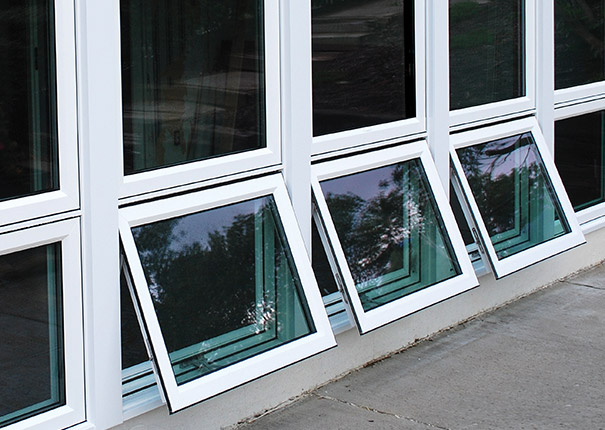 Double Awning Windows : Awning casement windows affordable vinyl