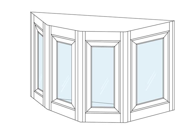 bow amp bay windows custom window styles available bay window styles