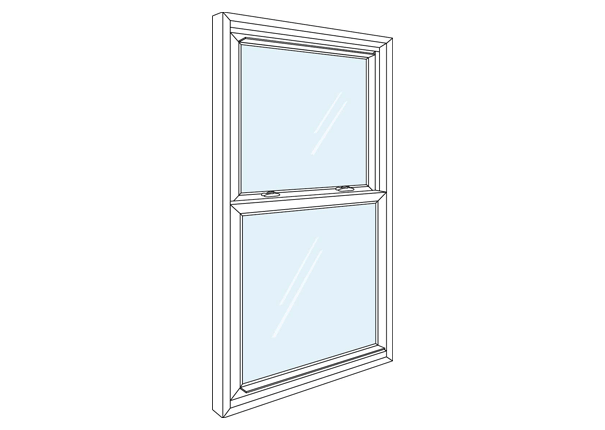 Double Hung Window Sizes : Double hung window sizes for vinyl windows stanek