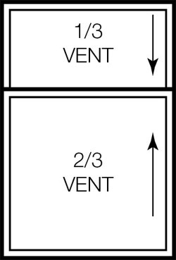 Double-Hung Window Size