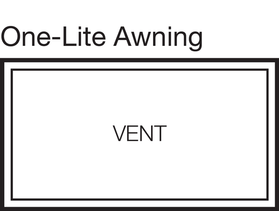 One-Lite Awning Window