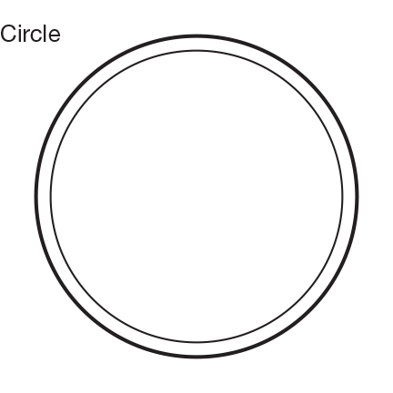 Custom Shape Circle Window