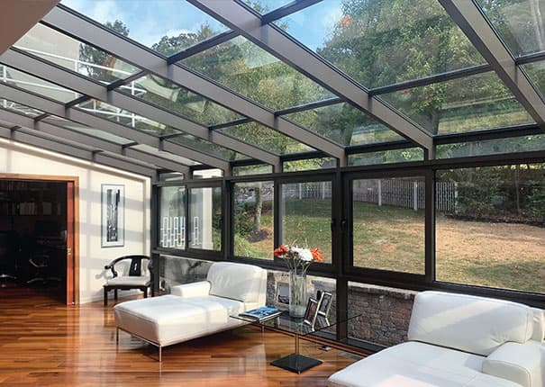 Patio enclosures sunrooms custom designed sunrooms for Build sunroom on deck