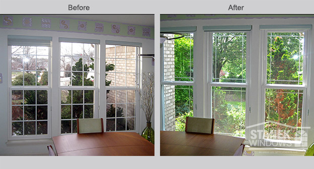 Energy efficient vinyl replacement windows cleveland oh for Custom vinyl windows online