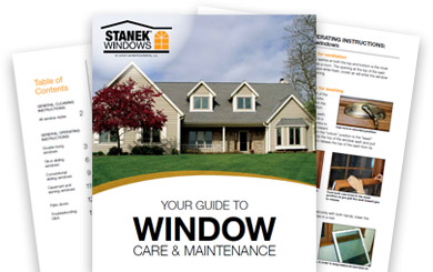 Stanek Windows Care & Maintenance Guide