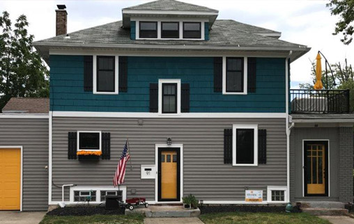 Exterior Window Colors vinyl replacement windows   interior & exterior colors