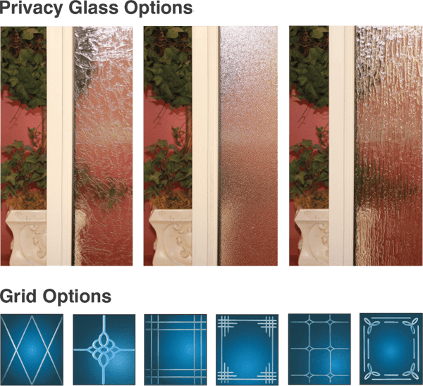 Privacy Glass and Grid Options