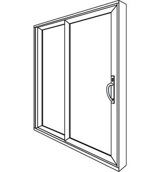 Patio Door Drawing