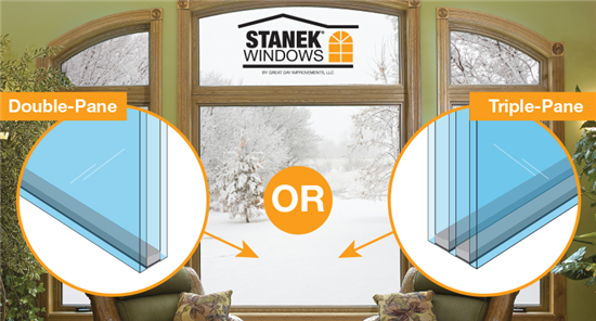 Double-vs. Triple-Pane Window Glass